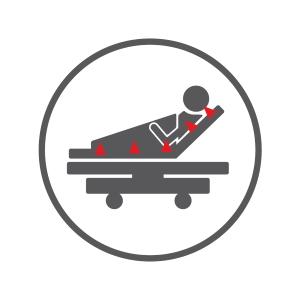 Icon Branchengruppe Dekubitusprävention und -therapie