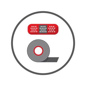Icon Branchengruppe Verbandstoffe