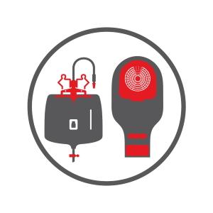 Icon Branchengruppe ableitende Inkontinenz und Stomaversorgung