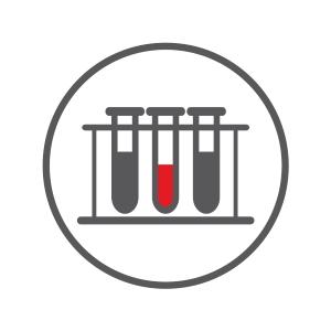 Icon Branchengruppe invitro Diagnostik