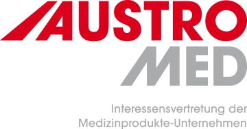 AUSTROMED Logo mit Slogan